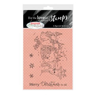 For the Love of Stamps A7 Stamp Set - A Special Delivery