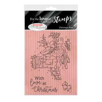 For the Love of Stamps A7 Stamp Set - Christmas Post