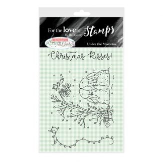 For the Love of Stamps A7 Stamp Set - Under the Mistletoe