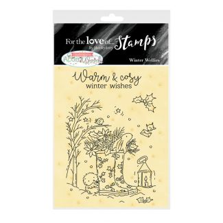 For the Love of Stamps A7 Stamp Set - Winter Wellies