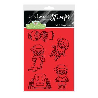 Happy Town Stamp Set - Mr & Mrs Claus
