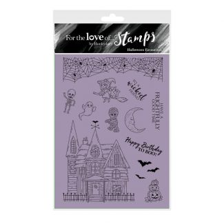 For the Love of Stamps - Snippables Christmas Cheers - Stocking