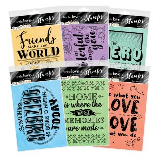 For the Love of Stamps - Inspirational Quotes Complete Collection