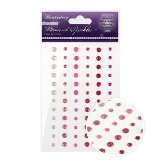 Diamond Sparkles Glitter Gemstones - Pink Sparkles