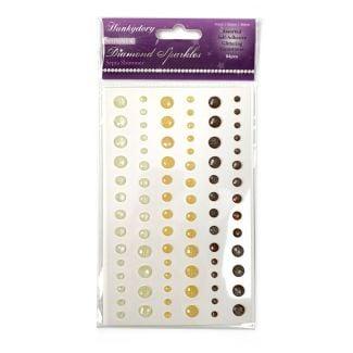 Diamond Sparkles Gemstones - Sepia Shimmer