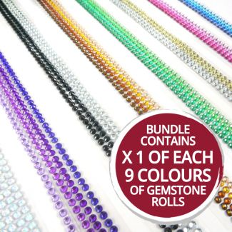 Diamond Sparkles Gemstone Rolls Bundle