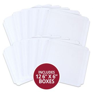 """6"""" x 6"""" Handmade Card Boxes - 12 x Boxes"""