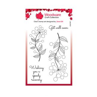 """Woodware Clear Stamp -  Bubble Bloom Abbie (6"""" x 4"""")"""