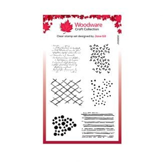 """Woodware Clear Stamp -  Bubble Texture Blots (6"""" x 4"""")"""