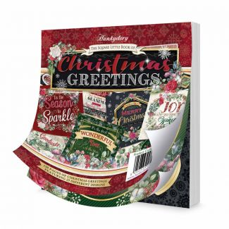 The Square Little Book of Christmas Greetings