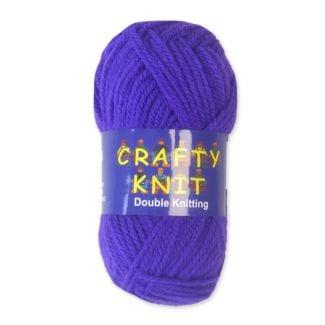 Crafty Knits DK Yarn 25g - Purple