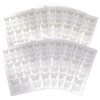 Acetate Butterfly Die-Cuts