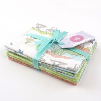 Lily Pad by Debbie Shore - Garden Fat Quarter Bundle