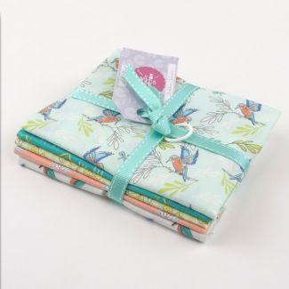 Lily Pad by Debbie Shore - Kingfisher Fat Quarter Bundle