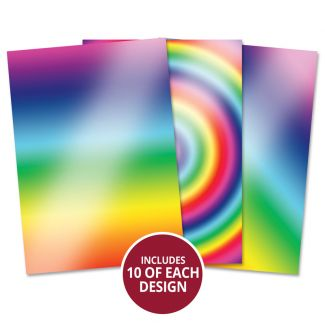 Mirri Card Essentials - Rainbow Radiance Assortment