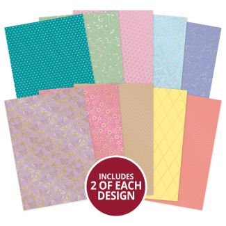 Springtime Luxury Foiled Cardstock