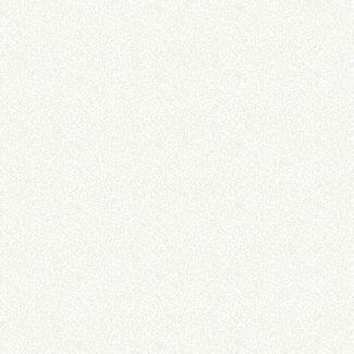 Makower Essentials - Mini Leaf White on White (1/2 metre)