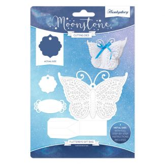 Flutterbye Gift Bag Moonstone Die Set