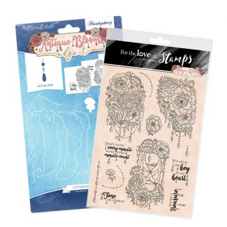 Antique Blooms - Edge It Stamp and  Die Bundle