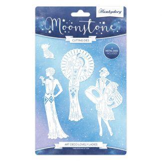 Moonstone Dies - Art Deco Lovely Ladies