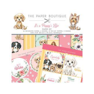 The Paper Boutique It's a Puppy's Life Paper Kit