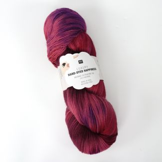 Hand-Dyed Happiness 100g - Red