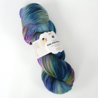 Hand-Dyed Happiness 100g - Teal