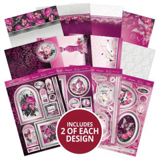 Rose Quartz Dreams - A Shimmering Silk Topper Collection