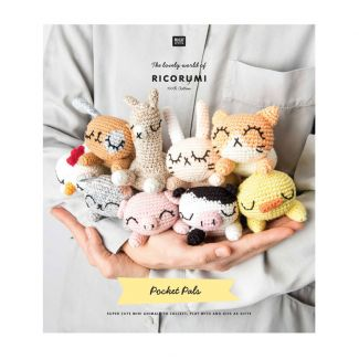 Ricorumi Pattern Book - Crazy Cute Family