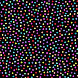 Rainbow Packed Dots (fat quarter)