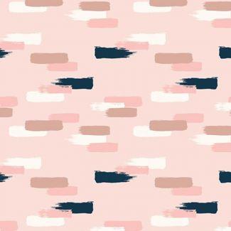 Blush Strokes Pink Sparkle