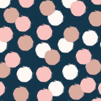 Blush Puffs Blue Sparkle