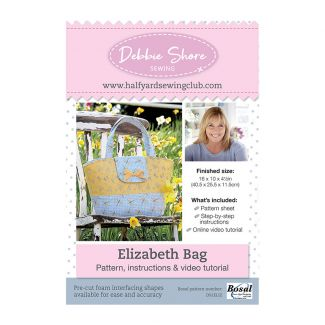 Half Yard Sewing Club - Elizabeth Bag Pattern