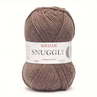 Snuggly DK Soft Brown