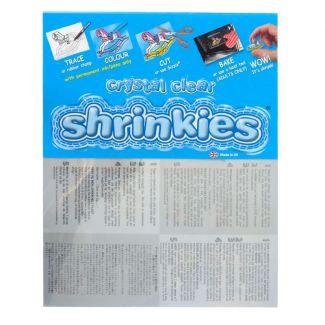 Clear Shrink Plastic x 6 Blank Shrinx