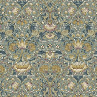 Morris & Co - Standen - Lodden Dusk (fat quarter)