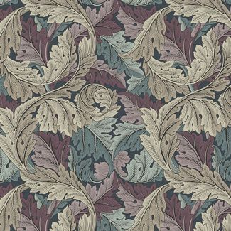 Morris & Co - Standen - Acanthus Dusk (fat quarter)