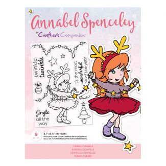 Annabel Spenceley Photopolymer Stamp - Twinkle Twinkle