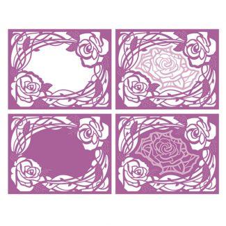 Floating Roses Die Set
