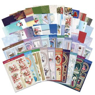 Christmas Mega Mixed Toppers & Cardstock
