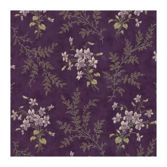 Moda Sweet Violet - Violet Ferns Violet