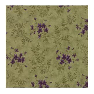 Moda Sweet Violet - Violet Ferns Leaf