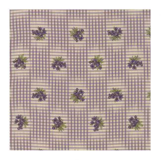 Moda Sweet Violet - Floral Gingham Ivory Lilac