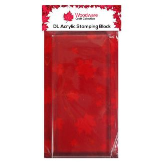 Woodware DL Acrylic Stamping Block