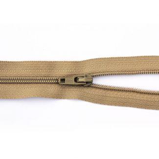 """Dress Zip - 36cm/14"""" - Beige"""