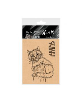 It's A Cat's Life Clear Stamp - Stripey Tabby
