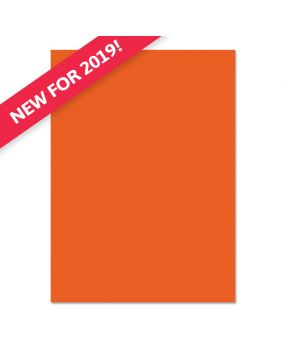 Adorable Scorable A4 Cardstock x 10 sheets - Orange Zest