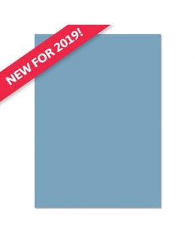 Adorable Scorable A4 Cardstock x 10 sheets - Blue Steel