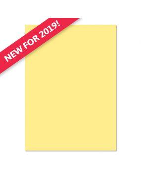 Adorable Scorable A4 Cardstock x 10 sheets - Lemon Squeeze
