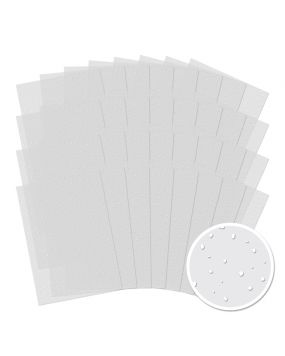 32 Sheets of Snowfall Acetate for the price of 24!